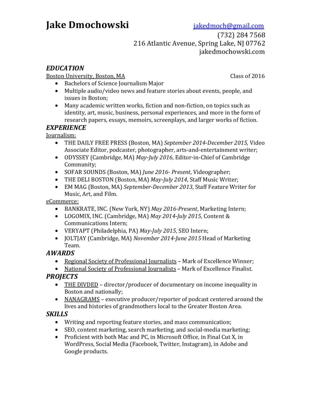 Jake Dmochowski Resume 2016-page-001