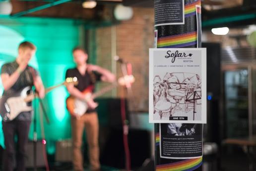 Sofar Sounds, Somerville, 15 June 2016